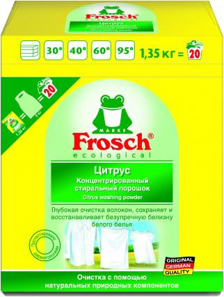 Порошок для стирки белого белья «Цитрус» (1,35 кг)