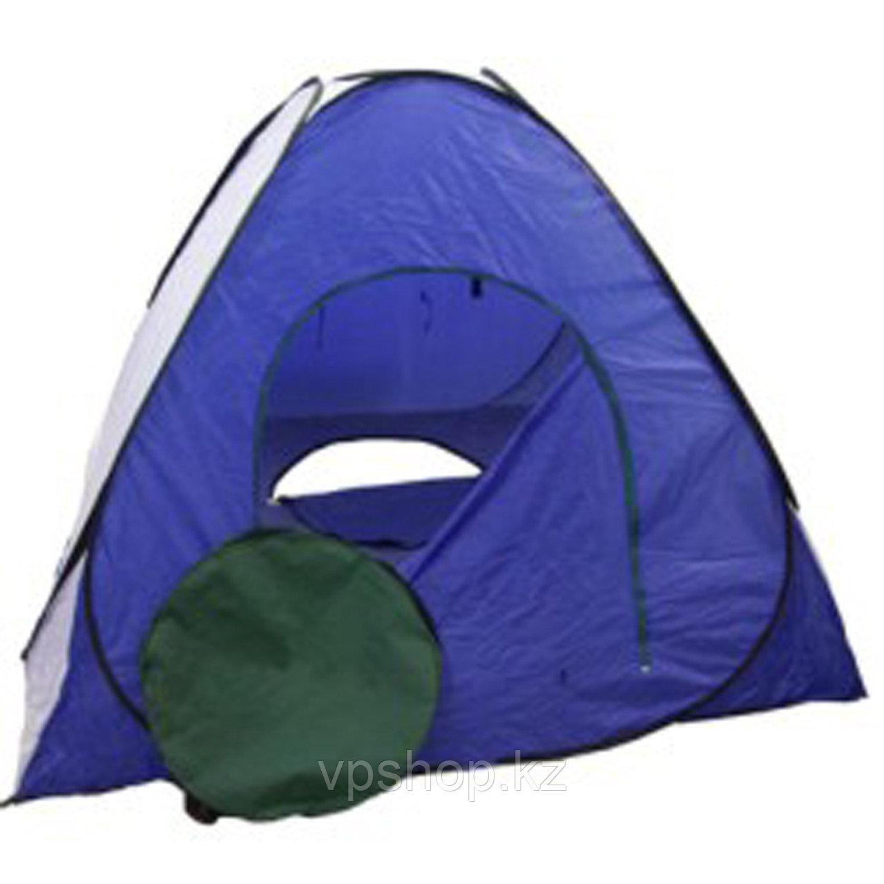 Палатка зимняя автомат дно на молнии 2,3x2,3, доставка