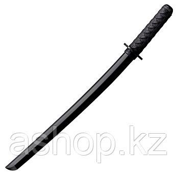 Меч японский тренировочный Cold Steel Wakizashi Bokken, Общая длина: 700 мм мм, Толщина лезвия: 1,9 см, Длина