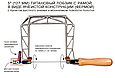 Лобзики ручные Knew Concept Titanium, глубиной реза 75мм, 125мм, 200мм, фото 4