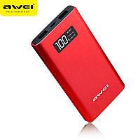 Powerbank Awei P60K 10000 mAh красный, фото 1