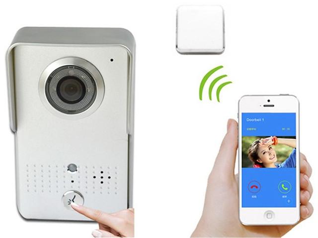 """Связь между домофоном и """"монитором"""" (мобильным устройством) осуществляется по Wi-Fi"""