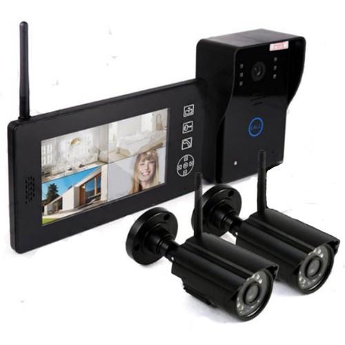 Беспроводной видеодомофон «Skynet VD-802 (2 камеры)»