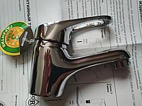Cмеситель DR37011 одноручный для умывальника монолитный,хром