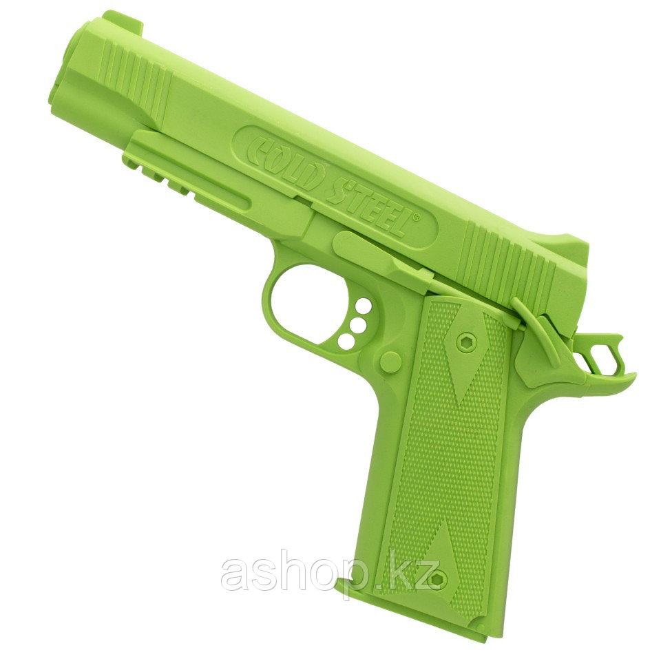 Пистолет тренировочный Cold Steel Pistol 1911 Rubber Training, Общая длина: 215 мм мм, Толщина лезвия: 2,5 см,