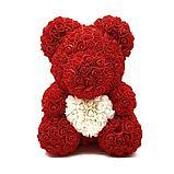 Романтичные мишки из роз 3D, фото 2