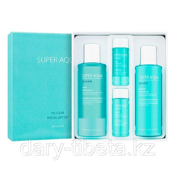 MISSHA Super Aqua Oil Clear Special Gift Set -Набор для ухода за жирной кожей лица