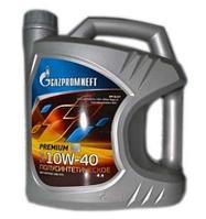 Моторное масло GAZPROMNEFT PREMIUM L 10W-40 4литра, фото 1