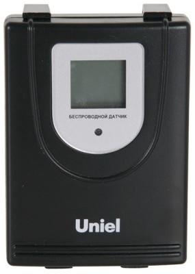 """Датчик метеостанции """"UTV-66 Uniel"""" оснащен дисплеем, позволяющим узнавать температуру и влажность воздуха"""