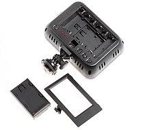 YN-1410 Накамерный LED прожектор фонарь+аккумулятор NP-F570 и зарядное устройство, фото 3