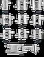 Мультитул браслет Leatherman Tread, Функционал: Для повседневного ношения, Кол-во функций: 29 в 1, Цвет: Сереб, фото 5