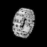 Мультитул браслет Leatherman Tread, Функционал: Для повседневного ношения, Кол-во функций: 29 в 1, Цвет: Сереб
