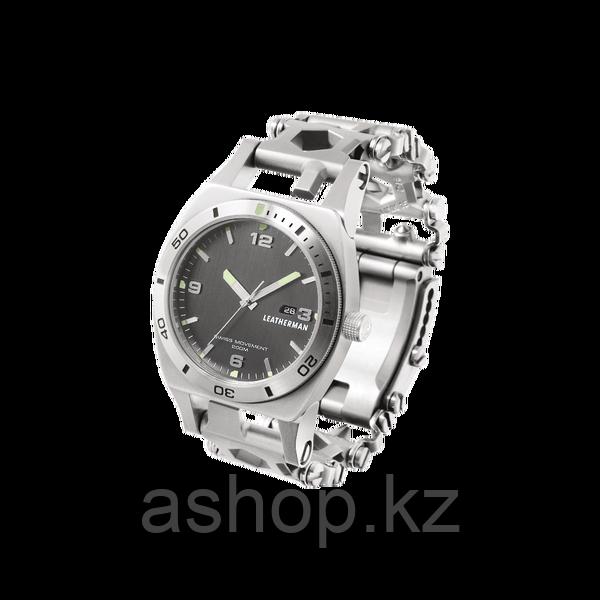 Мультитул браслет с часами Leatherman Tread Tempo, Функционал: Для повседневного ношения, Кол-во функций: 30 в