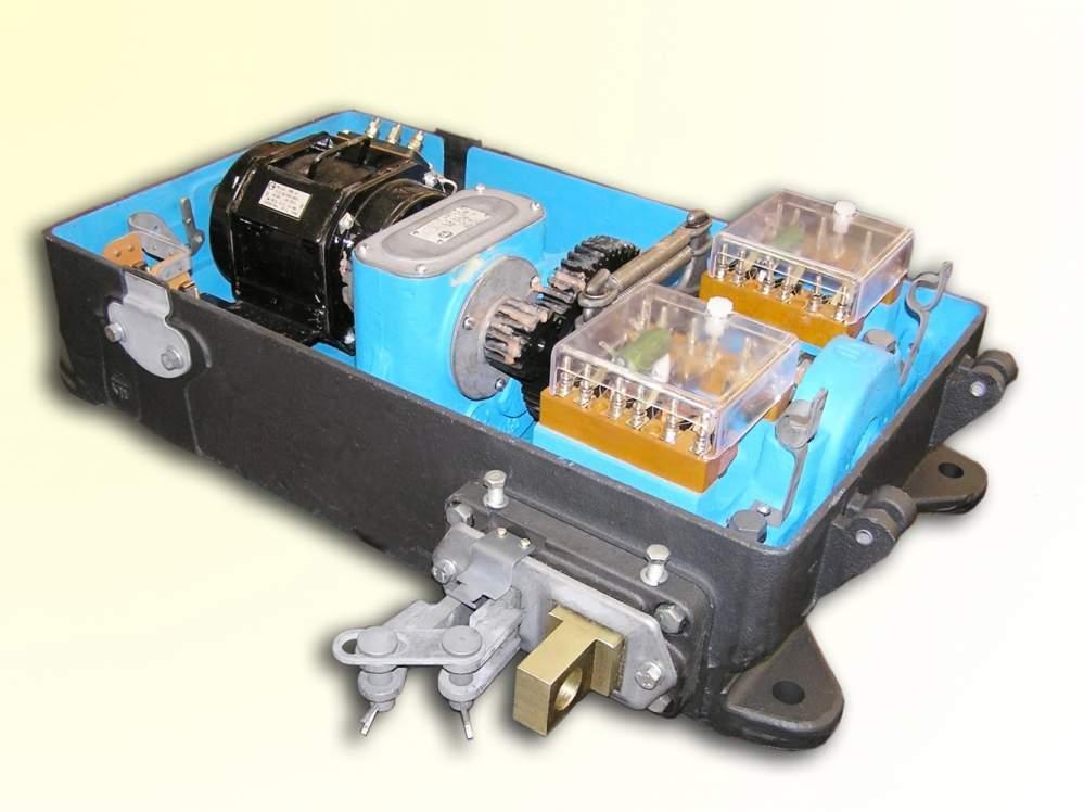Стрелочный электропривод СП-6М с применением АСМ