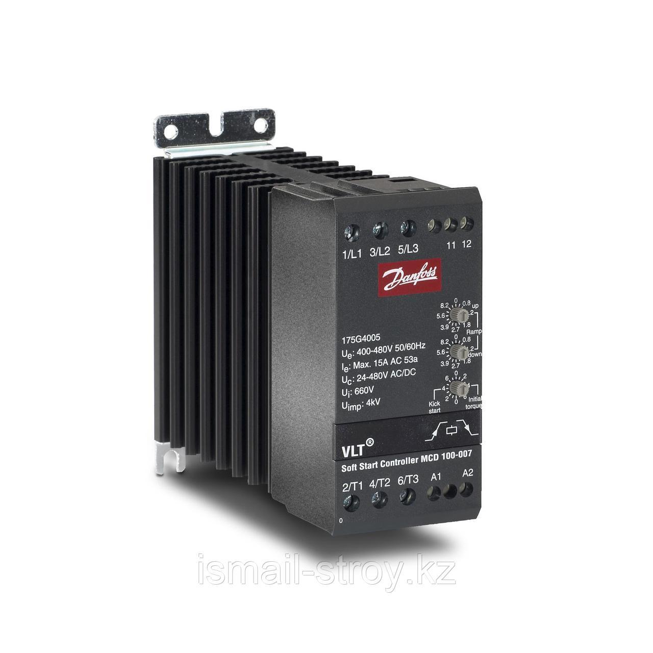 Устройство плавного пуска VLT MCD 100. 175G4005 кВт 7,5