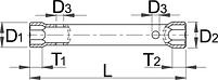 Ключ трубчатый 215/2, фото 2