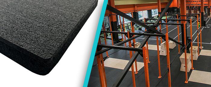 Резиновое покрытие Sagama CrossFit