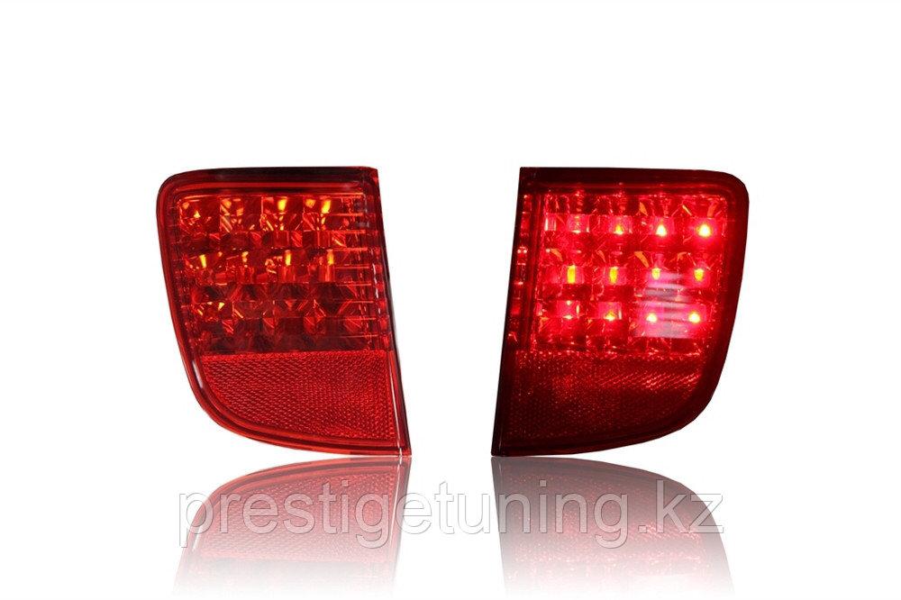 Задние LED вставки в бампер на LC200 2008-15
