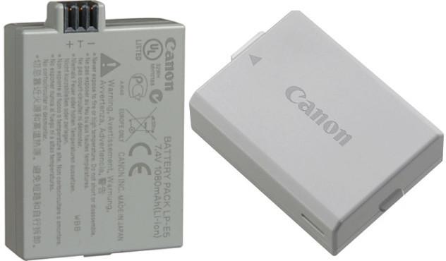 Аккумулятор Canon LP-E5 для камер Canon EOS 450D/ 500D/ 1100D (850 mAh)