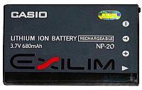 Аккумулятор Casio NP-20 (700 mAh)