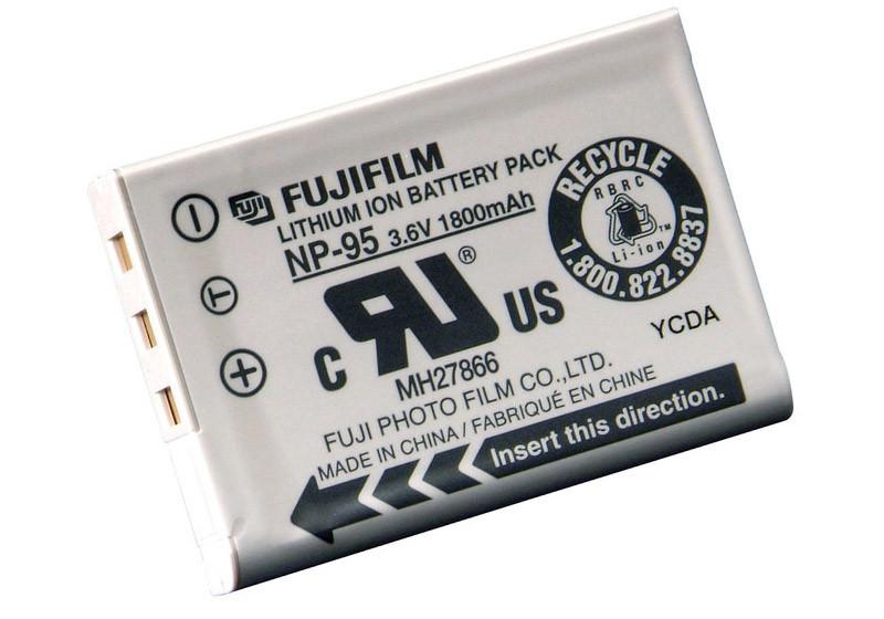 Аккумулятор Fujifilm NP-95 (1800 mAh)