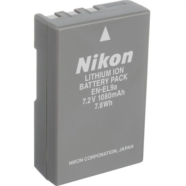Аккумулятор Nikon en-el9 a (1800 mAh)