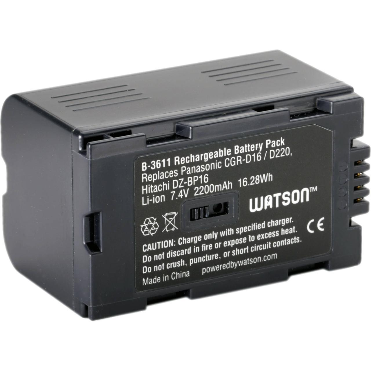 Аккумулятор Panasonic CGR-D16S (1600 mAh)