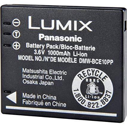 Аккумулятор Panasonic DMW-BCE 10 для Lumix (1000 mAh)