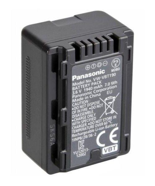 Аккумулятор Panasonic VBT 190 (1950 mAh)