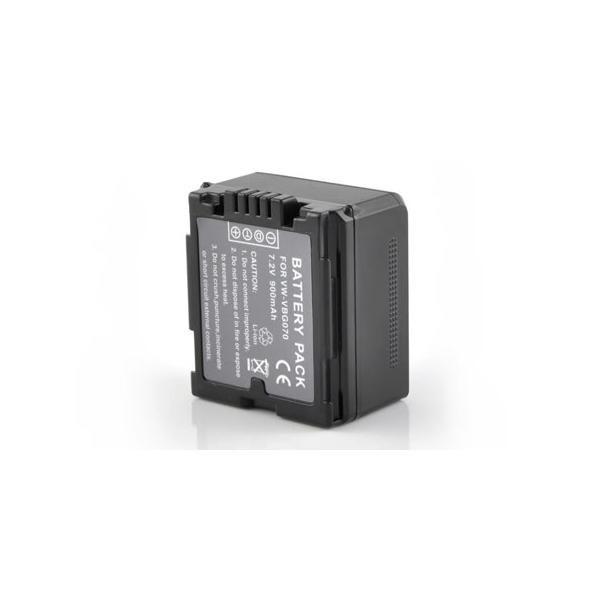 Аккумулятор Panasonic vw-vbg 070e-k (725 mAh)