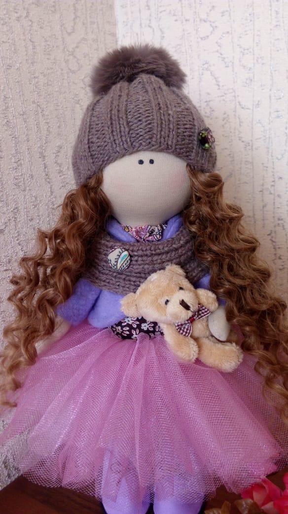 Интерьерная кукла 3