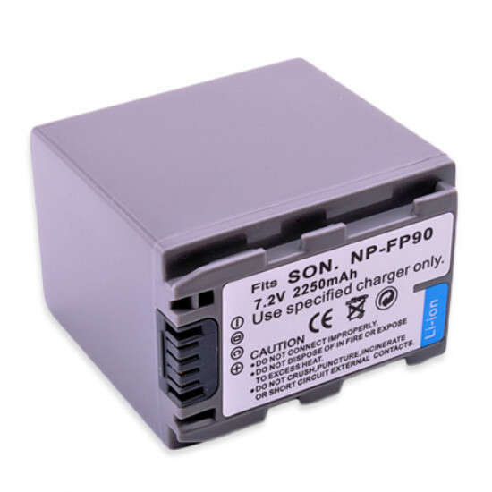 Аккумулятор Sony NP-FP90 (2460 mAh)
