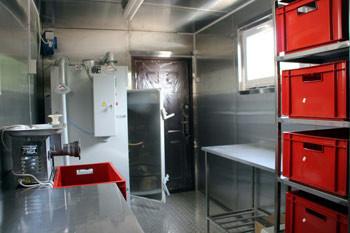 Модульный цех по переработке мяса до 400 кг в смену