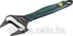 Ключ разводной SlimWide-S, 200 / 38 мм, KRAFTOOL