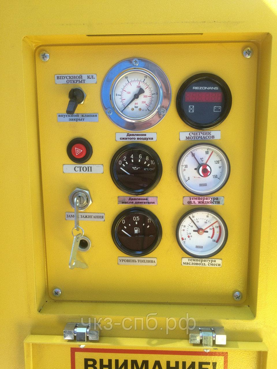 Панель управления Ehb 5170 12V MCflex-Chkz со встроенным манометром enb5170-MV