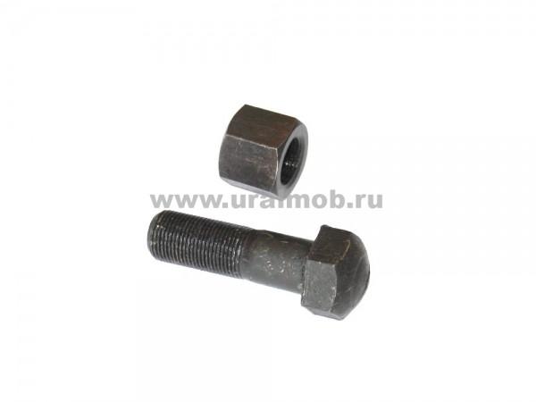 Болт+гайка М20х1,5х62 (башмачный)