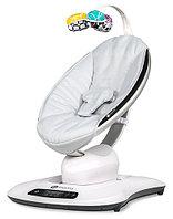 Кресло-качалка MamaRoo4 серебристая (4Moms, США)