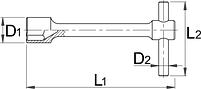 Ключ колёсный 212/2, фото 2