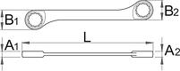 Ключ кованый накидной с храповиком 170/2, фото 2