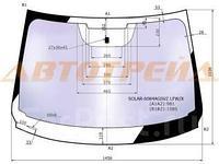 Стекло лобовое атермальное в клей NISSAN QASHQAI II 14- (Solar-X защита от ультрафиолета)