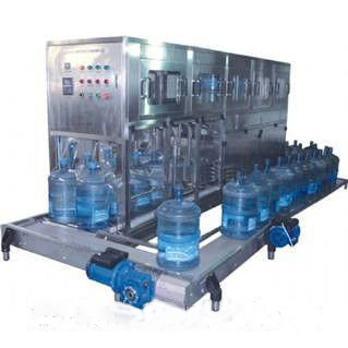 Полуавтомат линия по выдуву и розливу питьевой воды 19 л до 100 бут/час