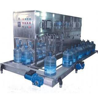 линия по выдуву и розливу питьевой воды