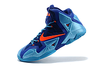 Кроссовки Nike LeBron XI (11) Blue/Orange Elite 2014 (40-46), фото 3