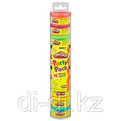 Набор пластилина Play-Doh для праздника из 10 банок