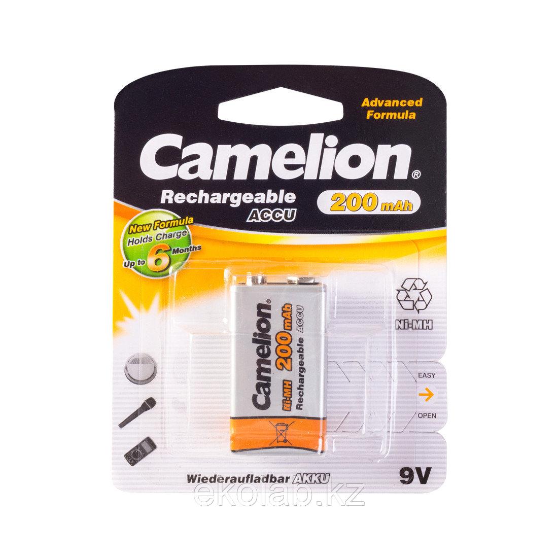 Аккумулятор, CAMELION, NH-9V200BP1