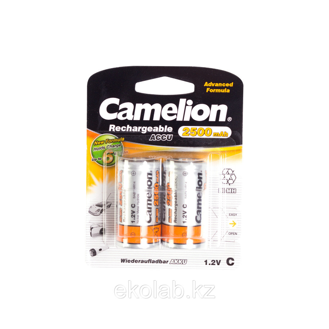 Аккумулятор, CAMELION, NH-C2500BP2