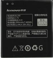 Заводской аккумулятор для Lenovo A516 (BL-209, 2000mAh)