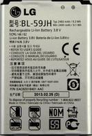 Заводской аккумулятор для LG Optimus P703 (BL-59JH, 2460mAh)