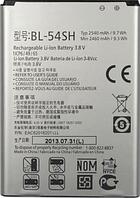 Заводской аккумулятор для LG Optimus F7 LG870 (BL-54SH, 2540mAh)