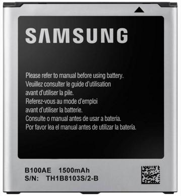 Заводской аккумулятор для Samsung Galaxy Star Plus S7262 (B100AE, 1500 mah)